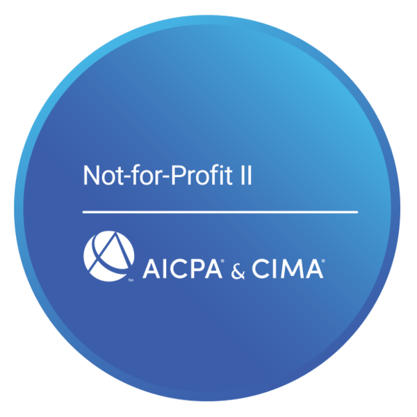 AICPA not for profit certificate II